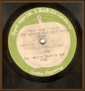THE SOURCE - Acetates - Apple - Beatles Christmas Record